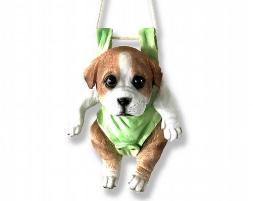 Jack Russell Swinging Puppy